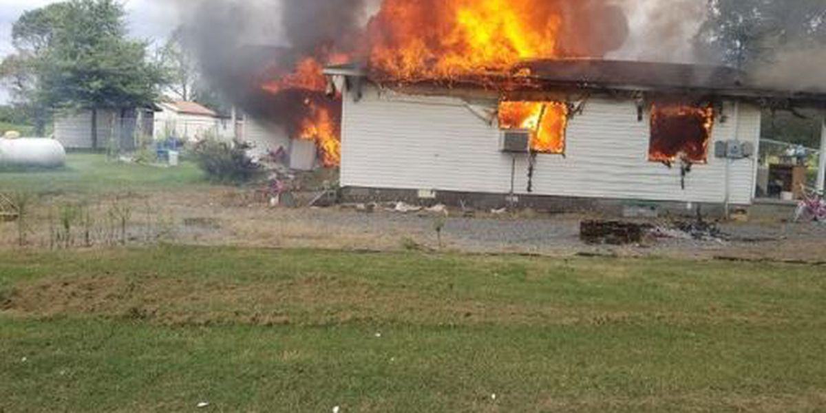Portageville, Mo. home a total loss after fire