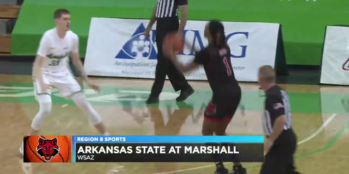 Arkansas State men's basketball falls to Marshall in season opener