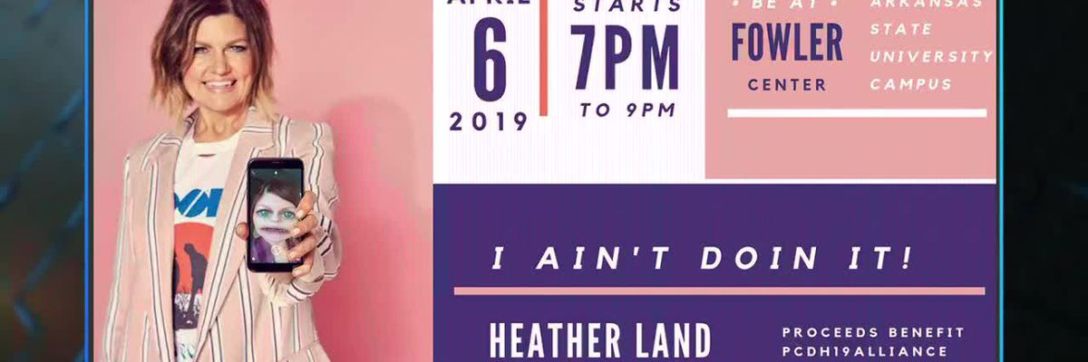 Tuesday's Midday Heather Land Epilepsy Benefit Interview 03-19-19