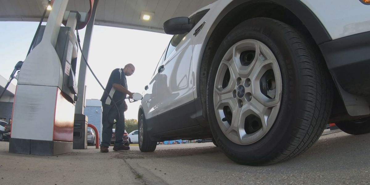 Gas prices tumbling with change of seasons