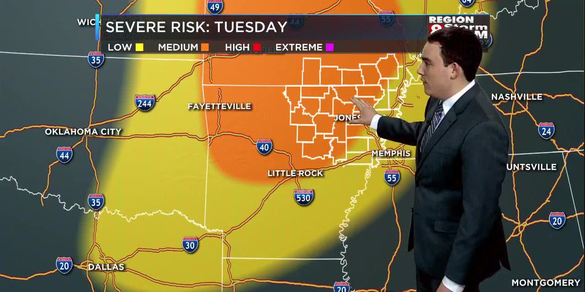 Zach's Monday Evening Forecast (5/20)