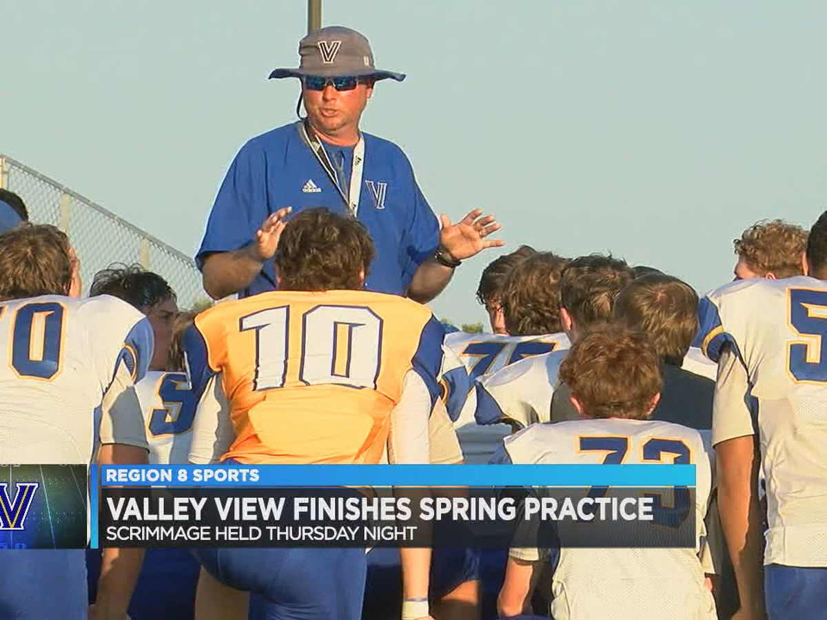 Valley View wraps up spring football with Thursday scrimmage