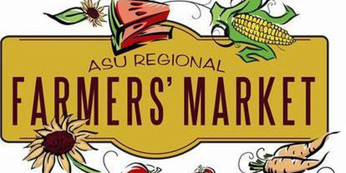 ASU Regional Farmer's Market set to open this weekend