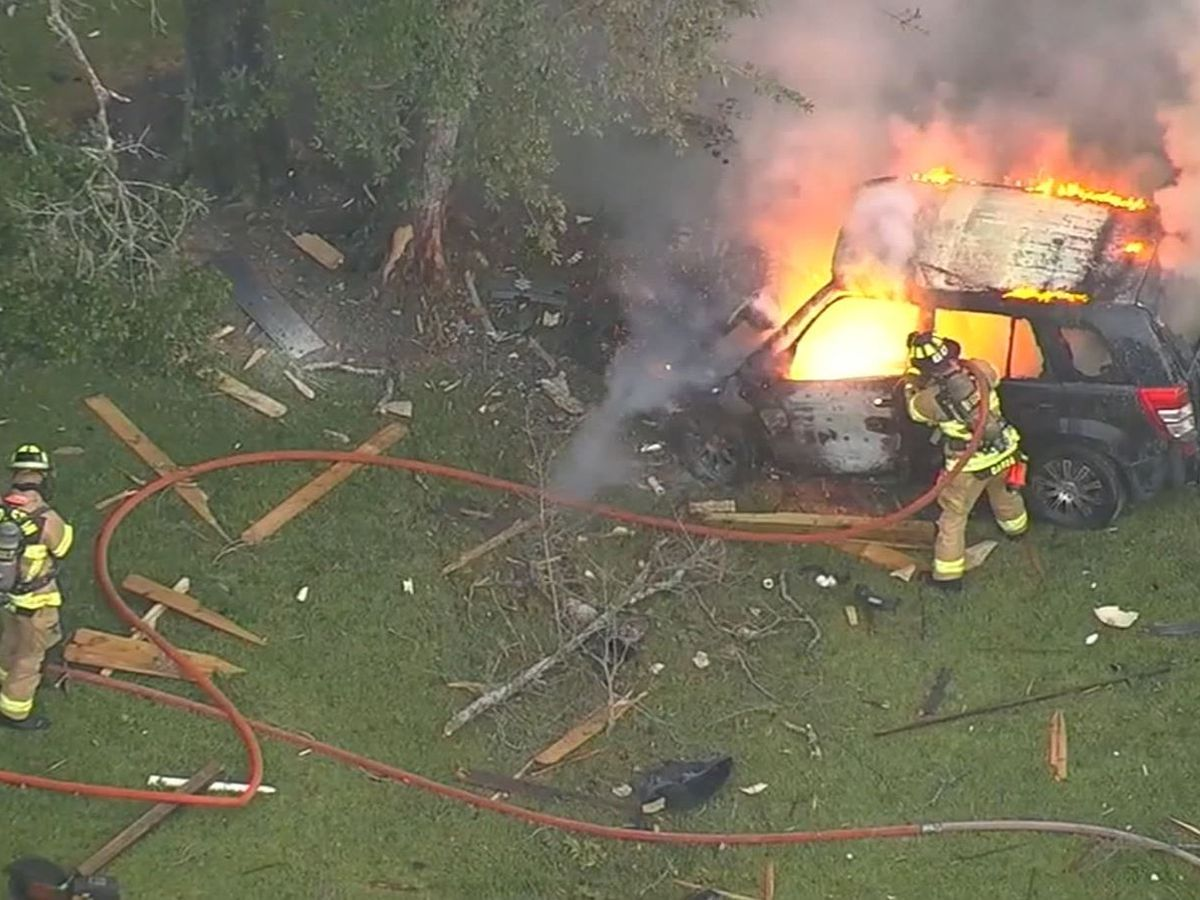 Teen's joyride in mother's SUV ends in fiery crash, Houston police say