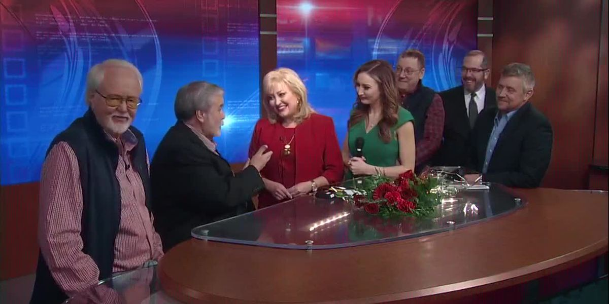 Diana Davis surprised on-air in celebration of 30 years at KAIT