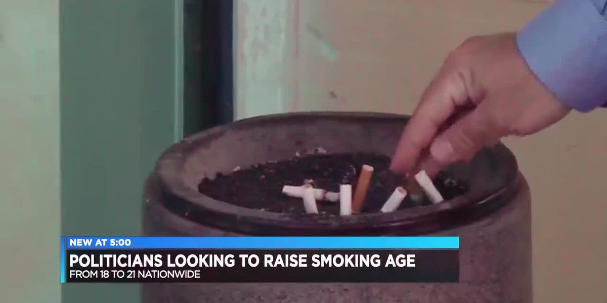 Raising tobacco product age enters new debate in Congress