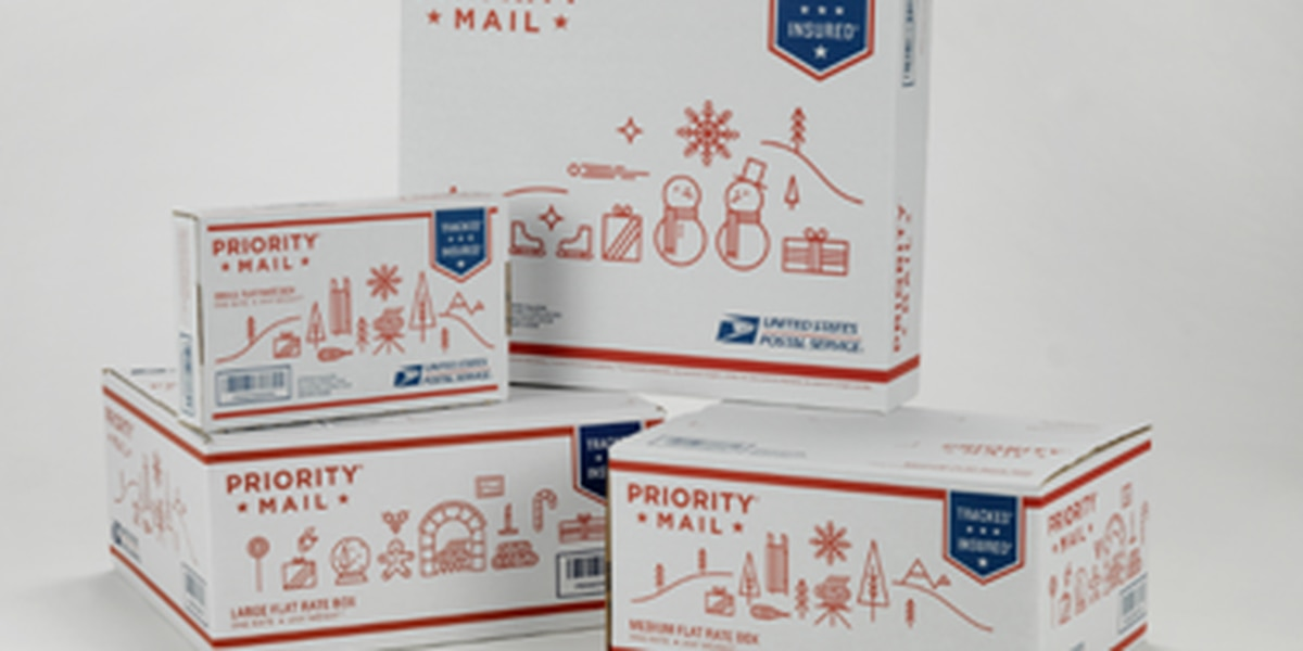 Holiday mailing and shipping deadlines announced