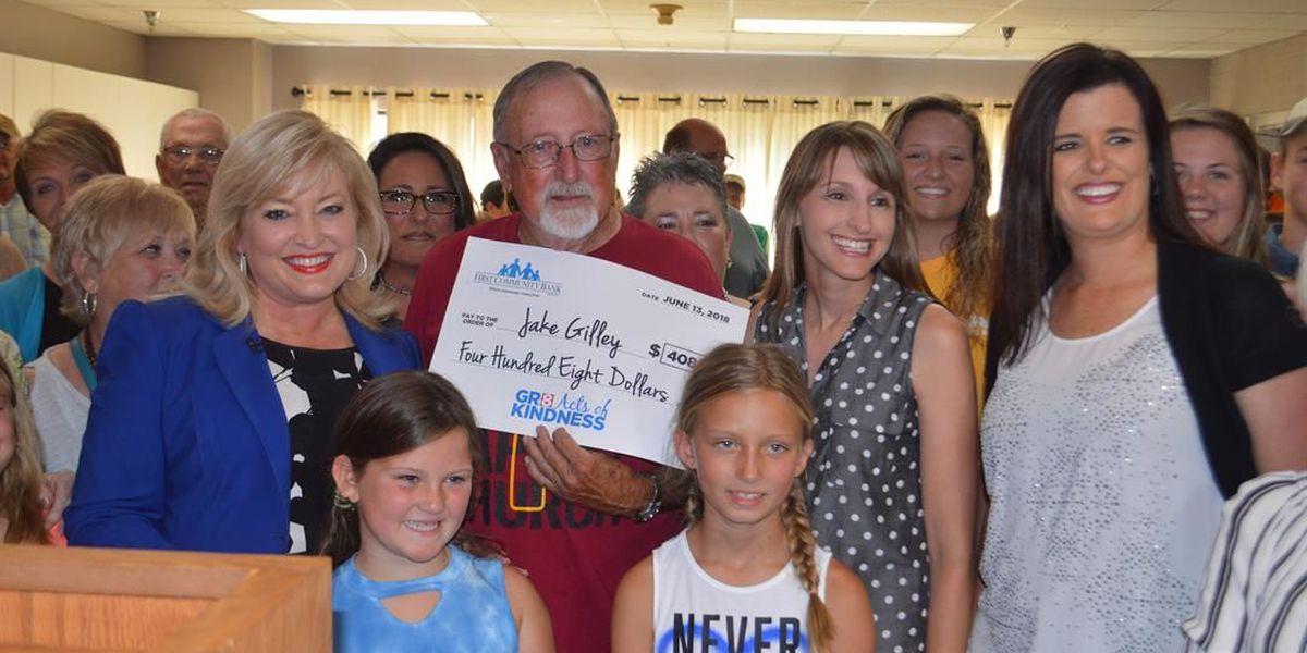 Community gratitude overwhelms Gr8 Acts of Kindness winner