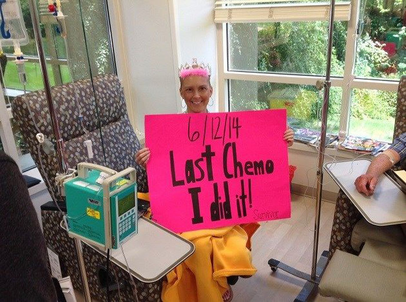 Fraternity Pledge Warms The Heart Of Breast Cancer Survivor