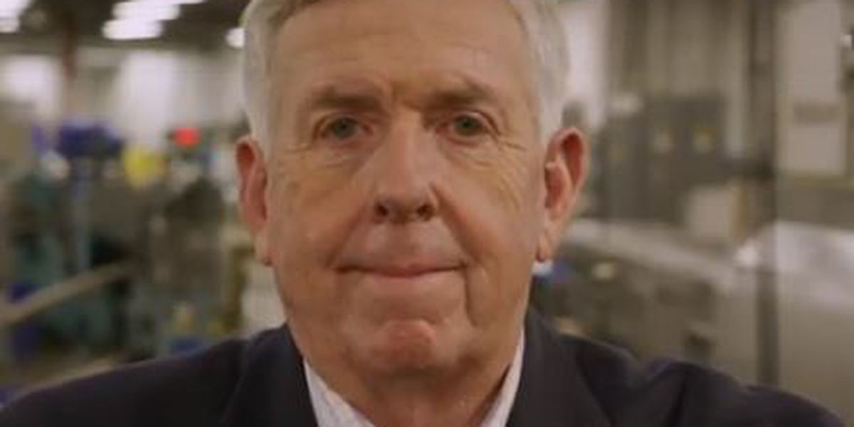 Parson announces re-election campaign for Mo. governor in 2020