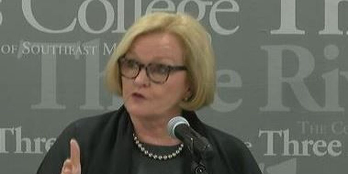 McCaskill says she would never consider impeaching Kavanaugh