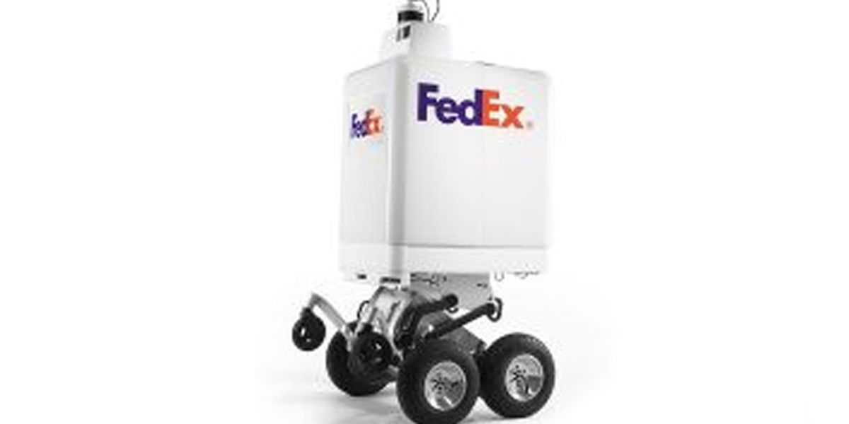 FedEx unveils autonomous robot capable of making same-day deliveries