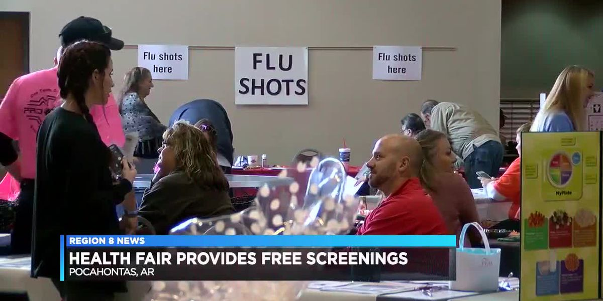 Health fair provides free screenings