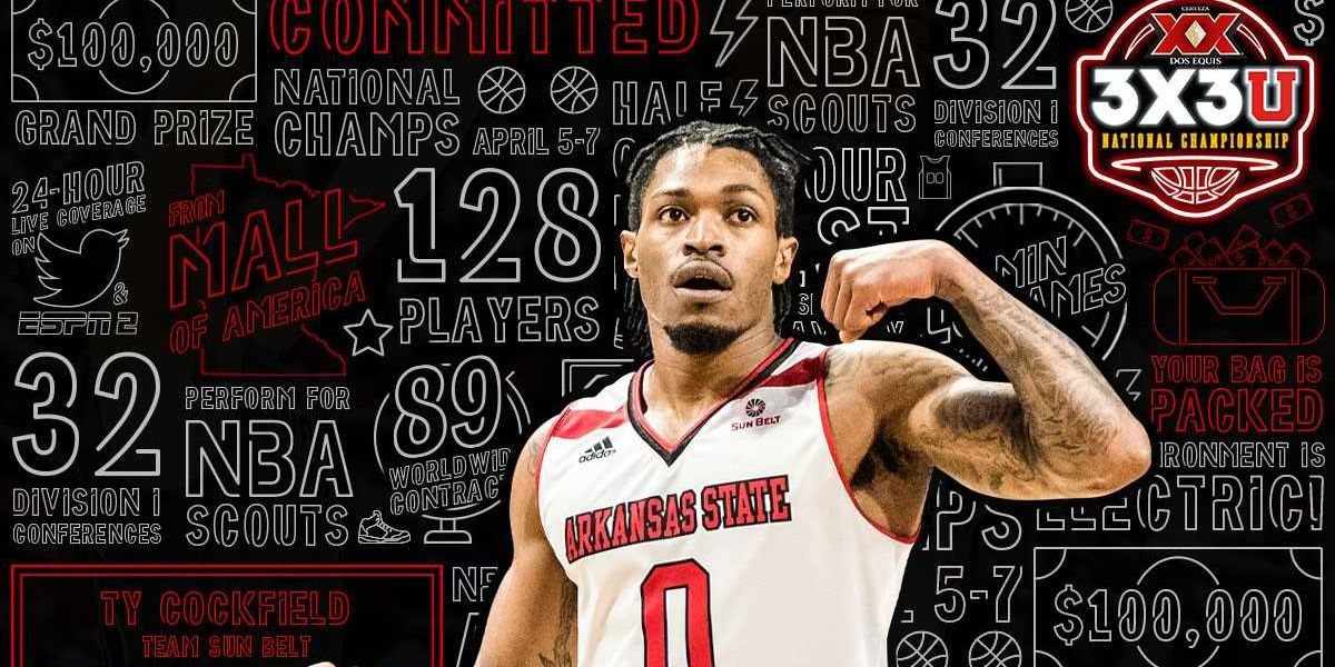 Arkansas State guard Ty Cockfield accepts invite to Dos Equis 3X3U National Championship