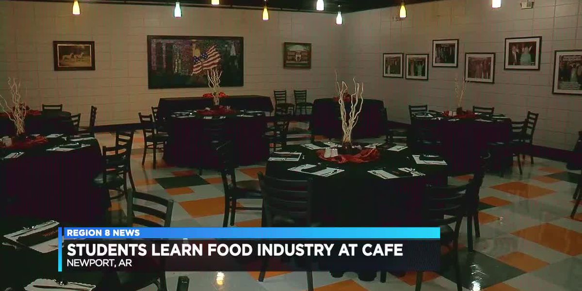 Hands-on food industry learning at Newport High School
