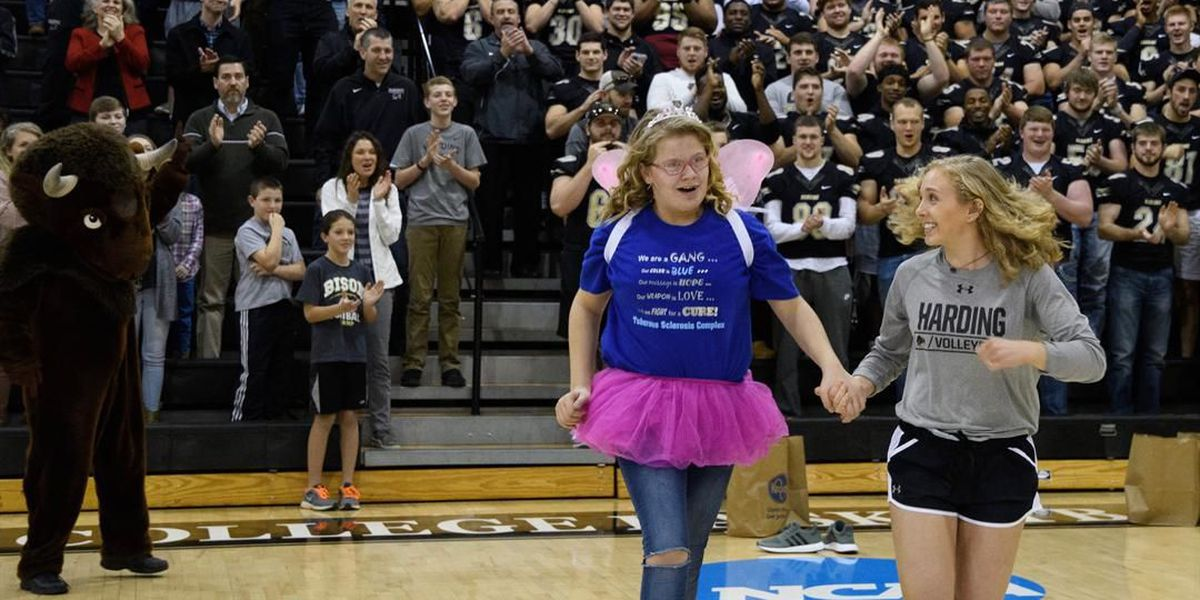 Searcy girl receives Make-A-Wish