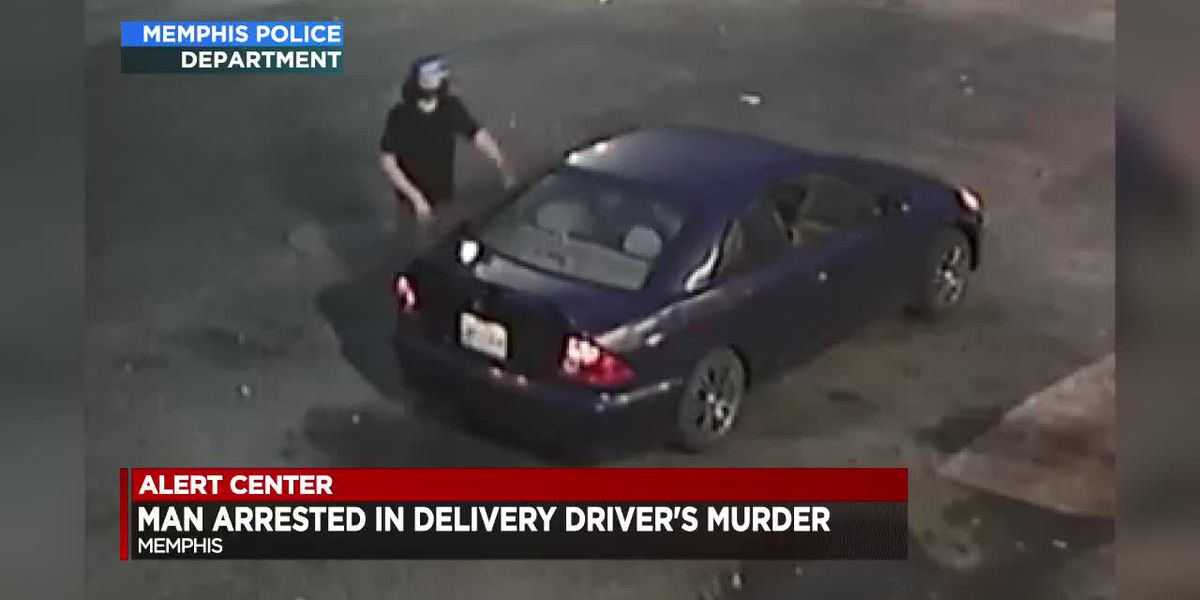 Man arrested, charged with murdering delivery truck driver at Jack Pirtle's in Memphis
