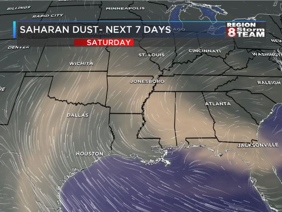 Saharan Dust: What is it and what will it bring?
