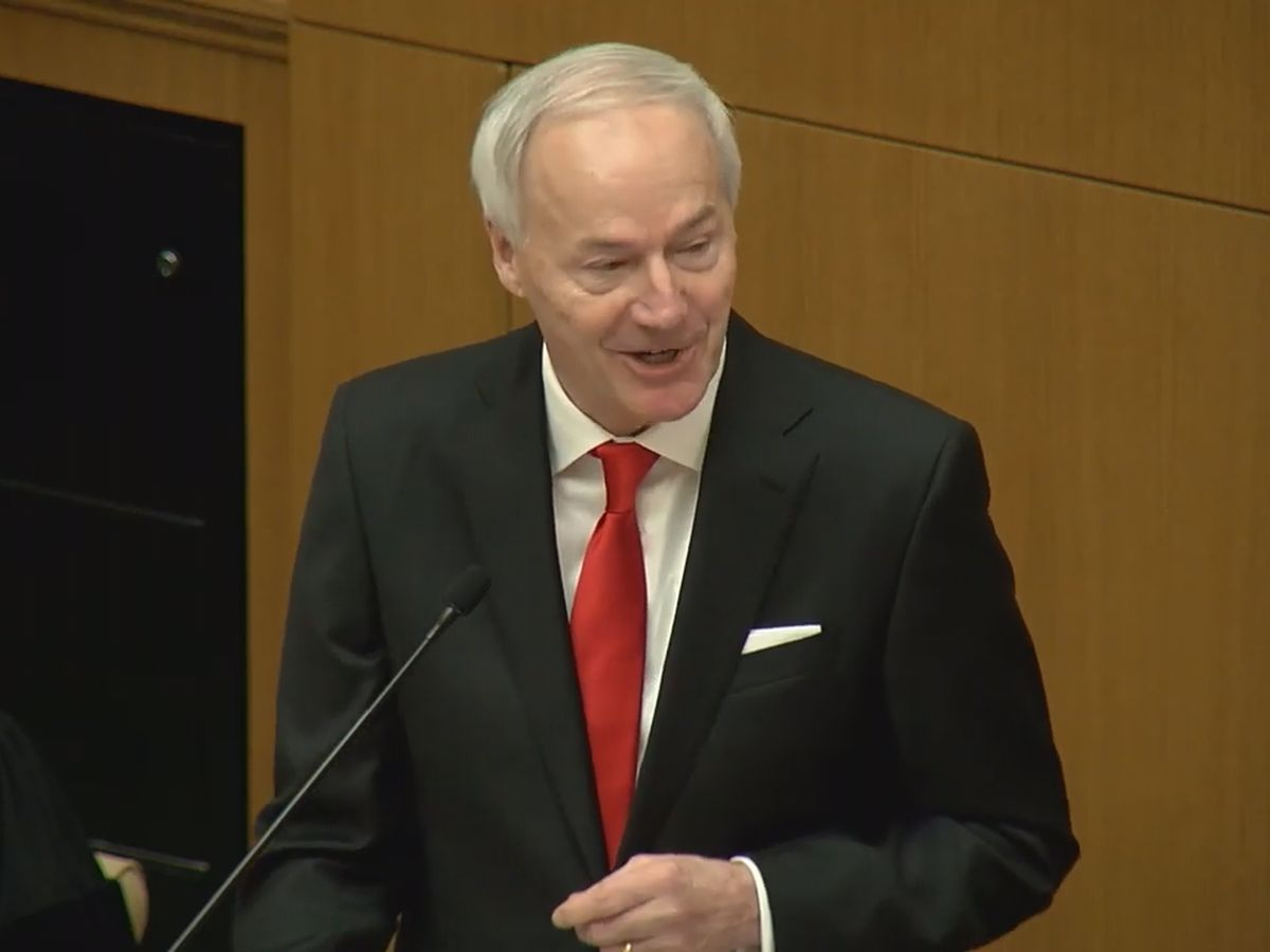 Governor Hutchinson sworn in for second term, delivers State of the State Address