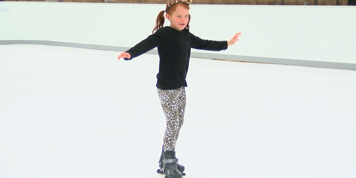Glice Rink now open at Shelby Farms Park