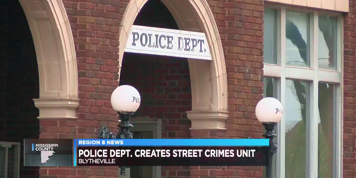 Blytheville police create street crimes unit