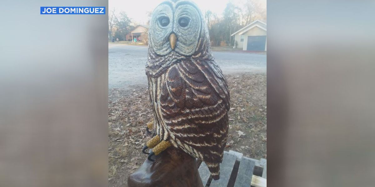 $2,000 crafted owl returned to Independence Co. man