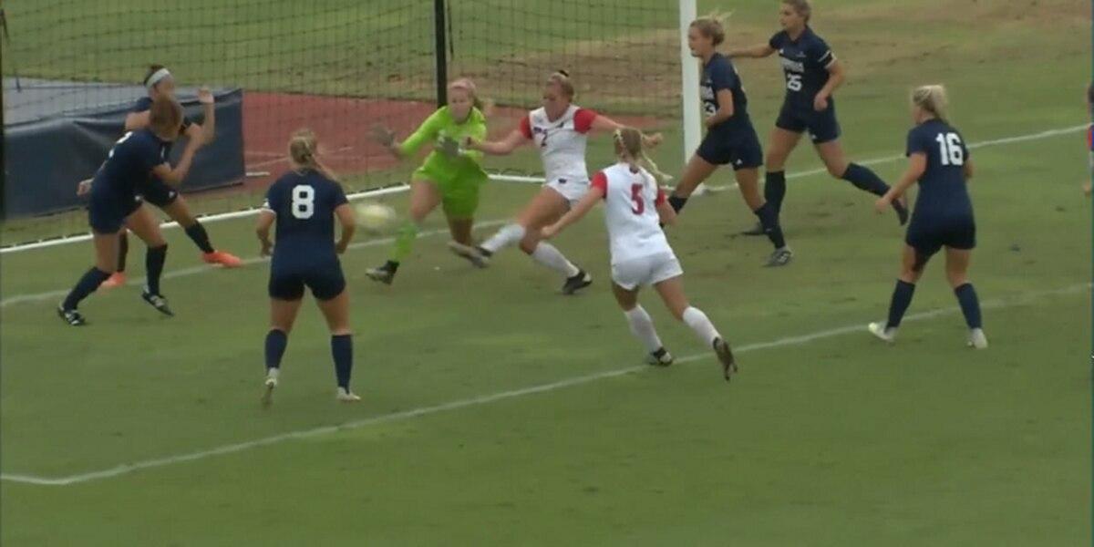 Smith scores OT goal as Arkansas State women's soccer beats Georgia Southern