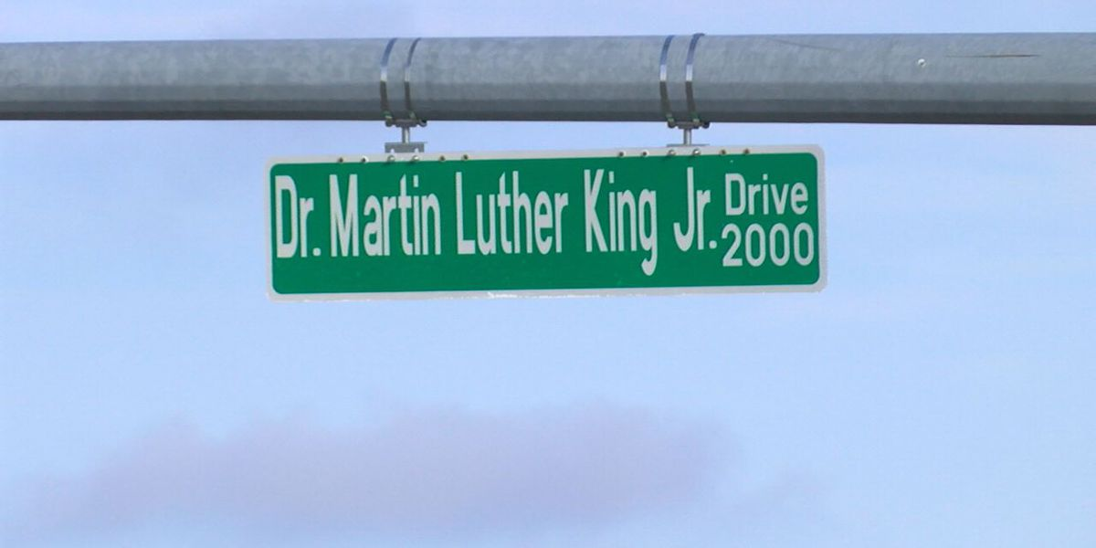 Dr. Martin Luther King Jr. signs unveiled in Jonesboro