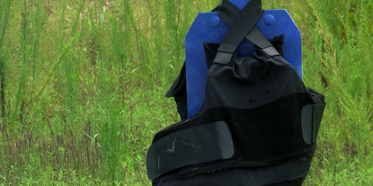 How bullet-resistant vests can save law enforcement officers