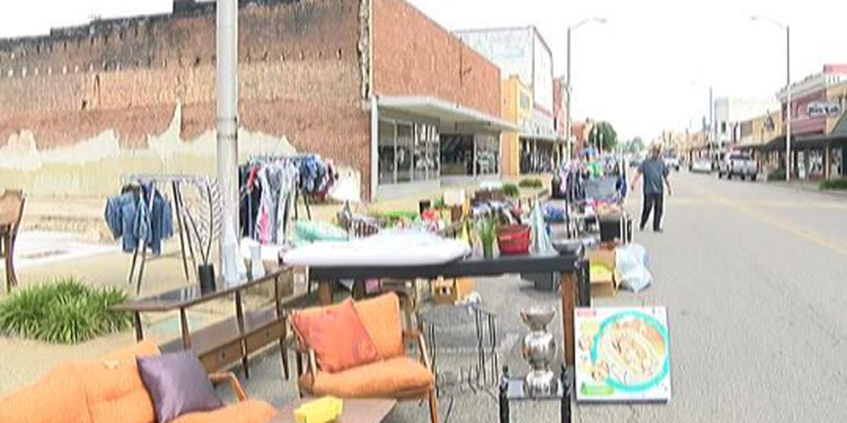Downtown yard sale event repeated after successful turnout