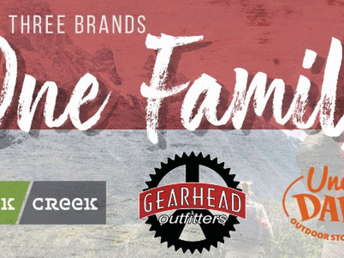 Gearhead Outfitters expands, adding Rock/Creek Outfitters, Uncle Dan's Outdoor Store