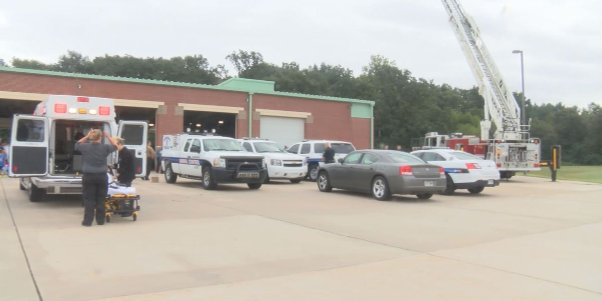 Students learn first hand about duties of first responders
