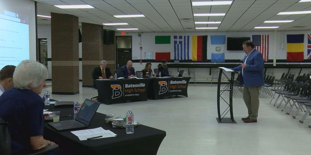 Batesville School District presents $49 million improvements to school board