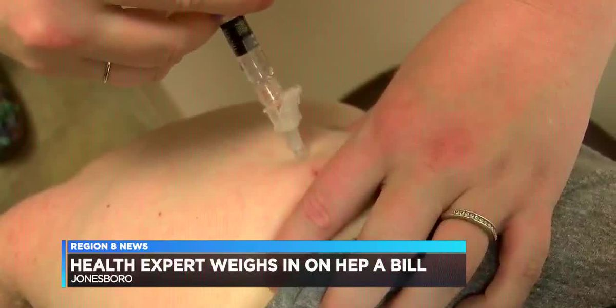 Local health expert weighs in on Hep A bill in legislature