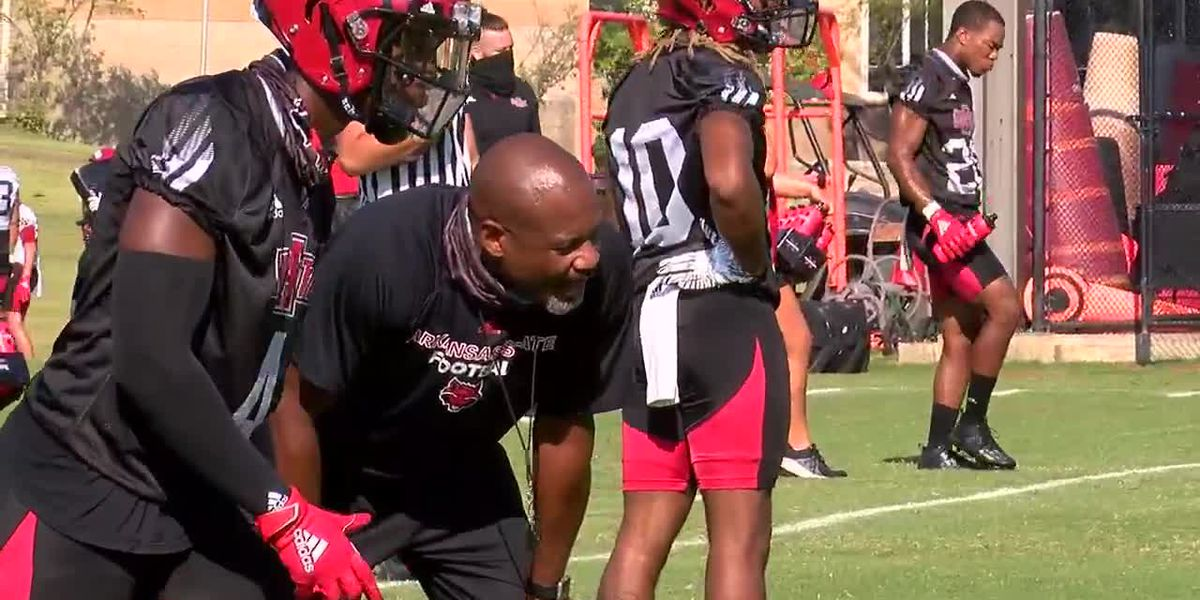 Red Wolves in 90: Arkansas State holds 2nd practice of fall camp, Anderson talks defense