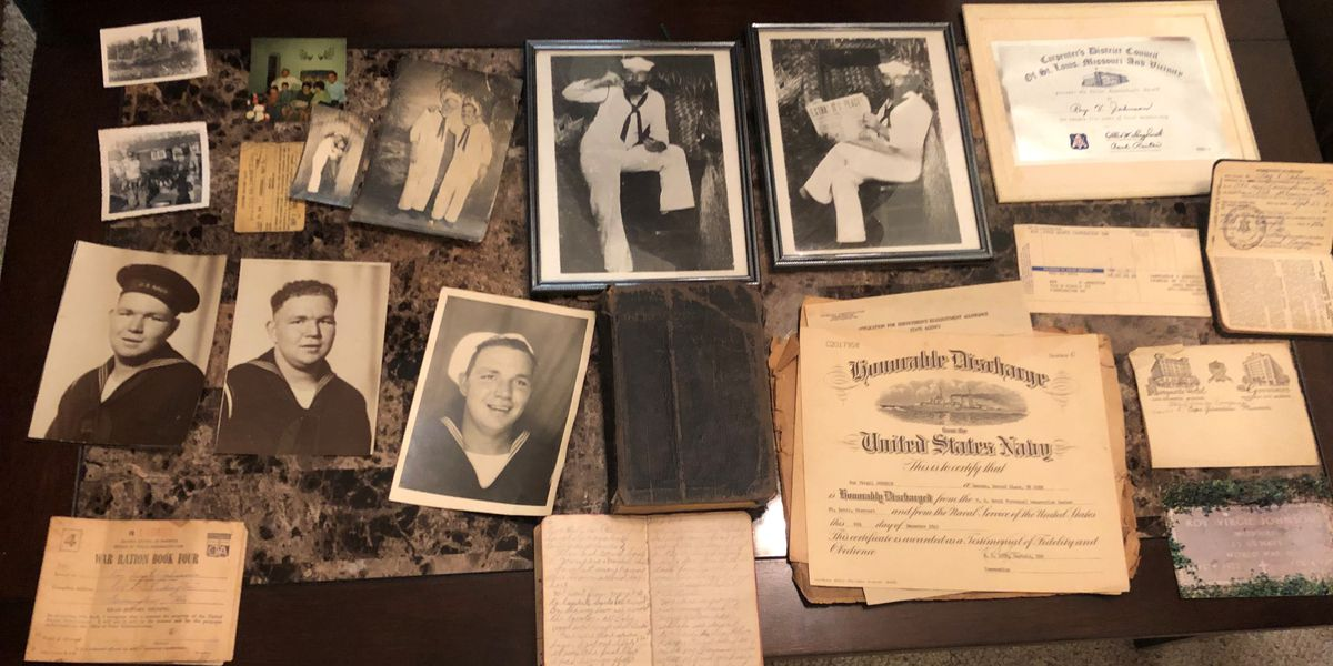 Family finds dad's journal from WWII