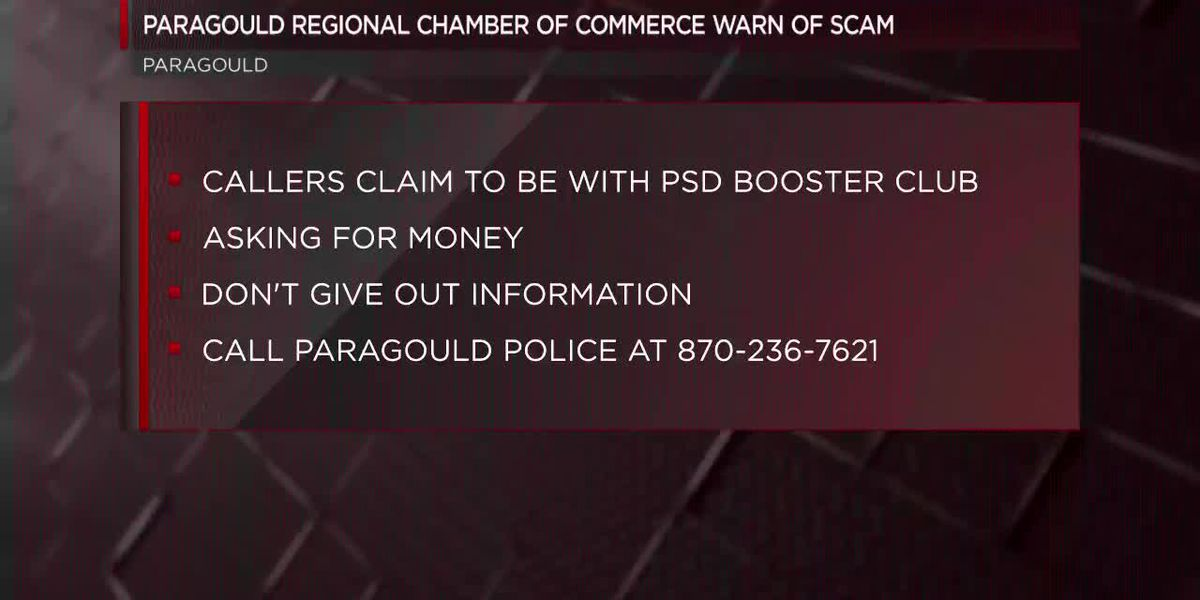 Paragould police warn of scam