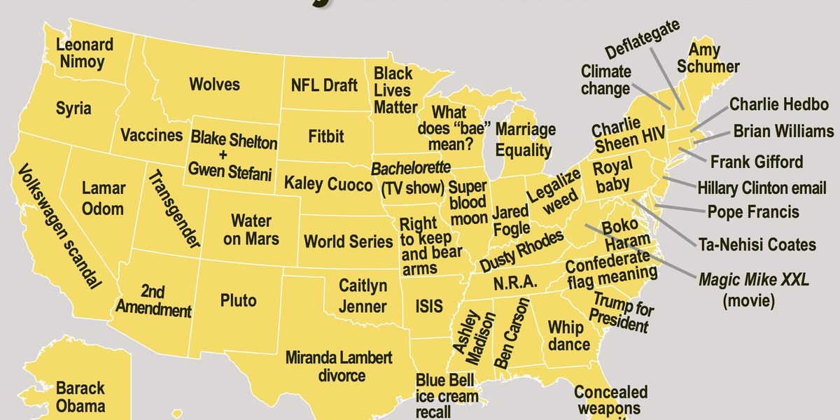 Arkansans search the internet about ISIS more than any other state
