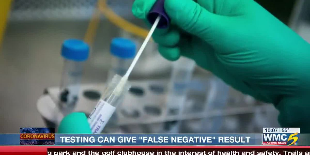 Doctor at UTHSC says COVID-19 tests can give false-negative results