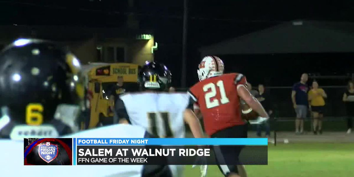 FFN Game of the Week: Walnut Ridge rallies in final minutes to beat Salem 26-22
