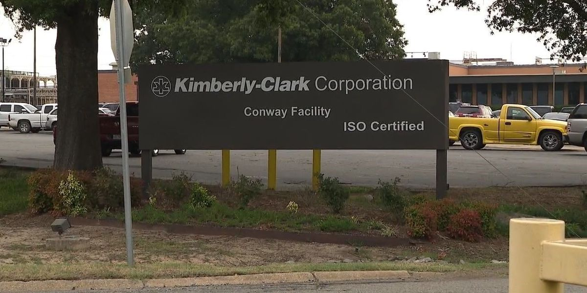 Kimberly-Clark plant in Conway to close