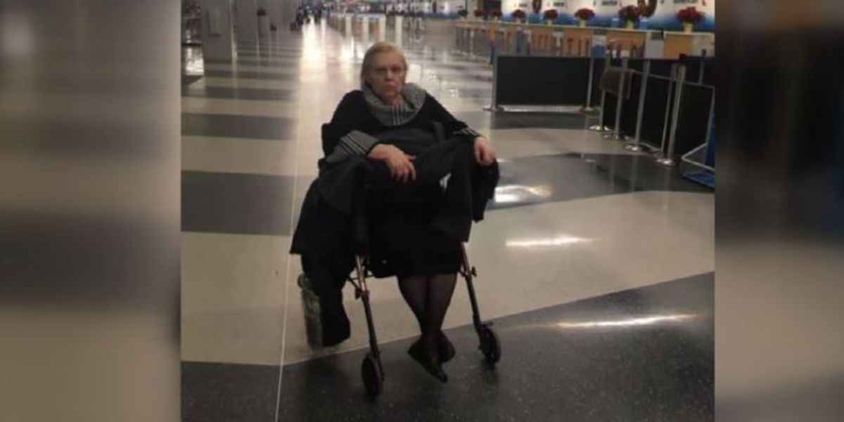Family accuses airline of abandoning woman in wheelchair after her flight was canceled