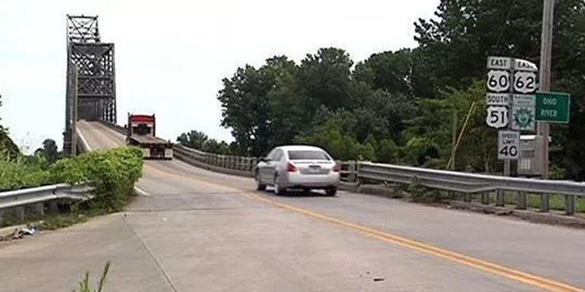 Public meetings to be held on replacing the U.S. 51 Ohio River 'Cairo' Bridge
