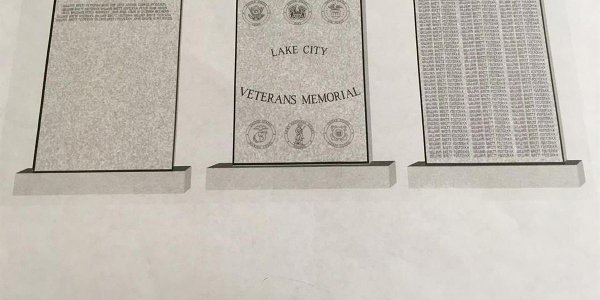 Plans unveiled for Lake City Veteran's Memorial