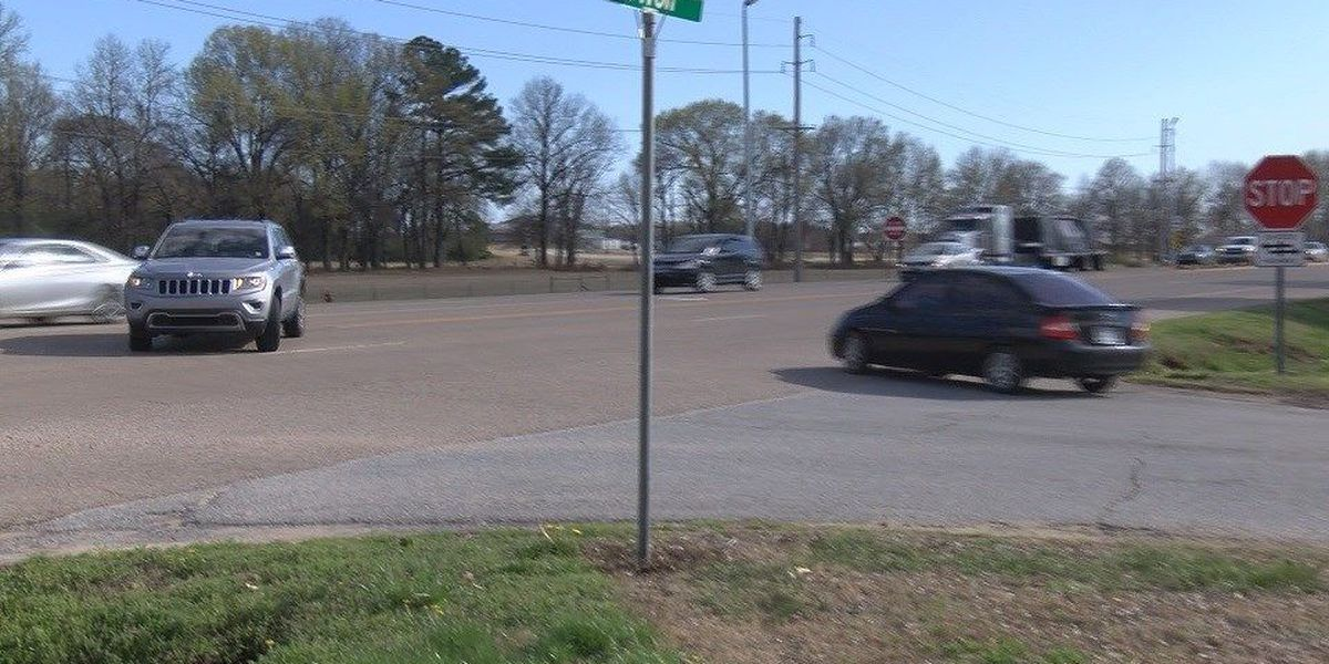 Road work complete on Red Wolf Blvd.