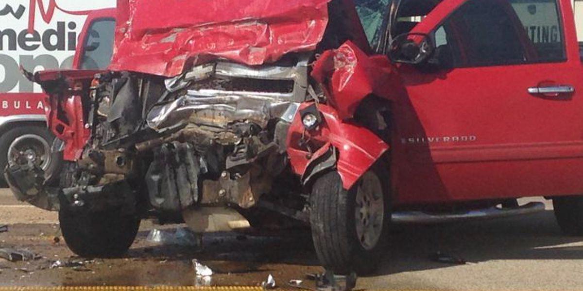 Emergency crews on scene of crash in Bono