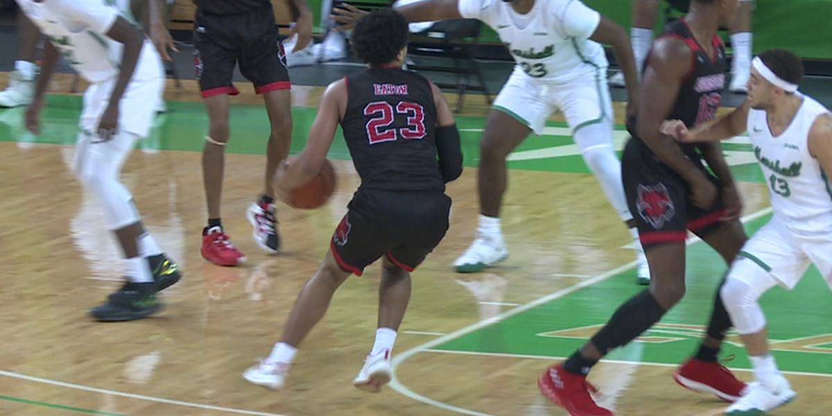 Arkansas State men's basketball falls to Marshall in season opener