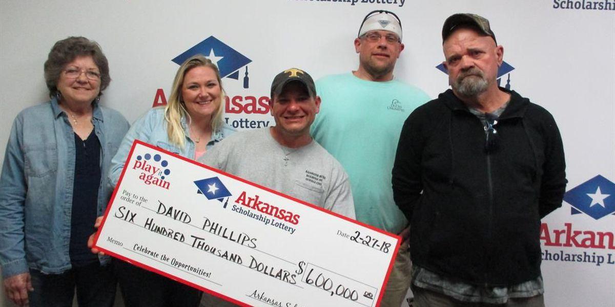 Trumann man wins $600k in Play It Again lottery