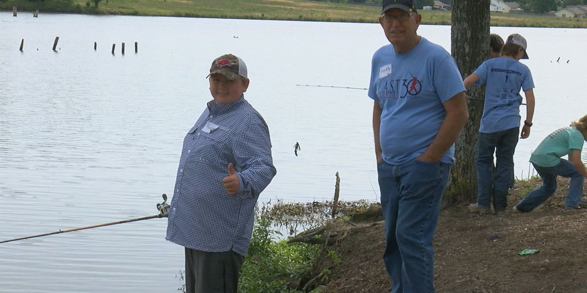 Paragould hosts first CAST for Kids fishing derby