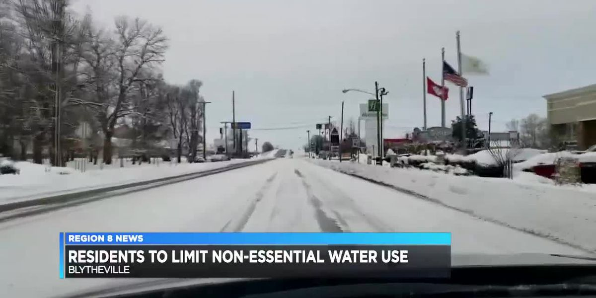 Blytheville residents asked to limit non-essential water use immediately